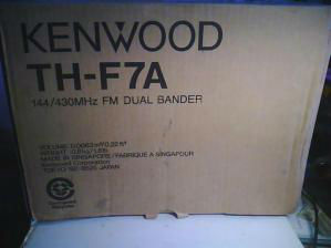 коробко KENWOOD TH-F7A